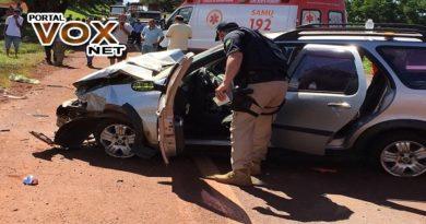 Tragédia > Acidente deixa três mortos e três feridos na BR-369, segundo a PRF