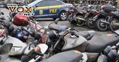 Ousadia > 05 motos são furtadas do pátio da PRF em Guaíra