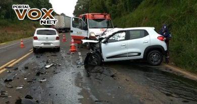 Fatal > Professora morre em acidente na PR-280