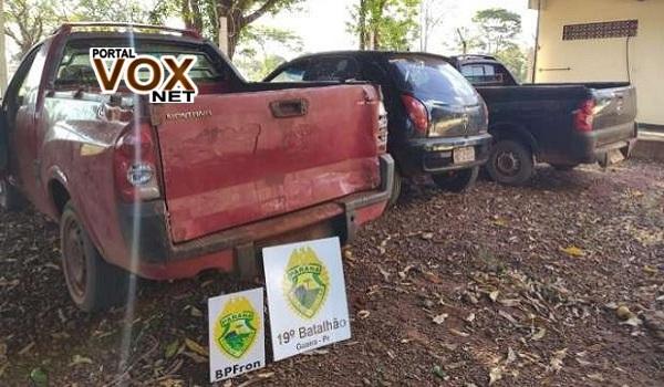Guaíra – PM e GM Tiram de circulação veículos irregulares