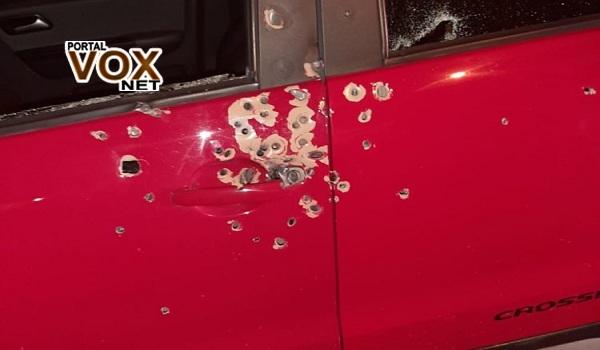 tiros de fuzil