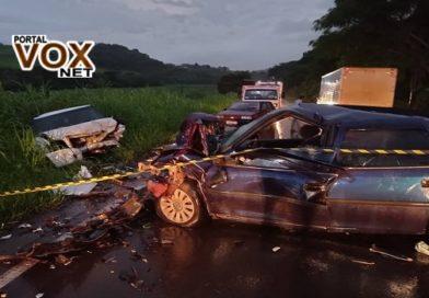 Fatal – Homem morre após colisão frontal