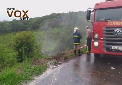 fatal – Carro pega fogo após grave acidente e casal morre na  BR-373