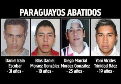 Fronteira – Bando morto em confronto com polícia brasileira fazia matança na fronteira