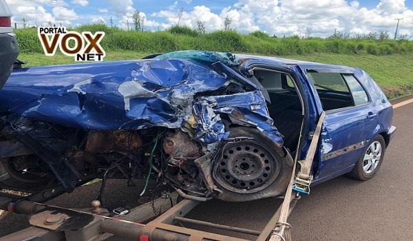 BR 277 – Acidente com 6 carros deixa um morto e seis feridos