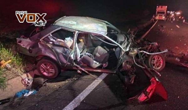 Fatal – Duas pessoas morrem em acidente na PR 323