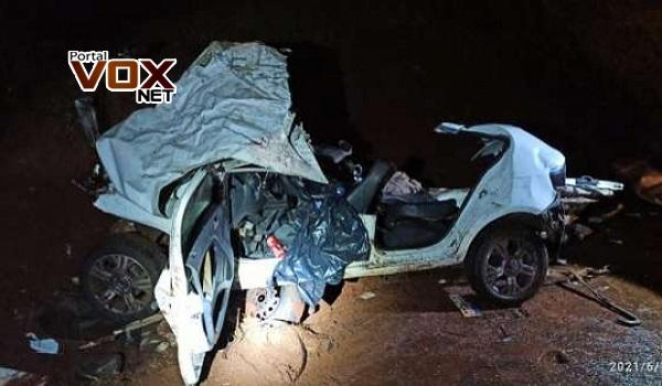 BR 369 – Irmãs morrem em batida frontal entre carro e ônibus