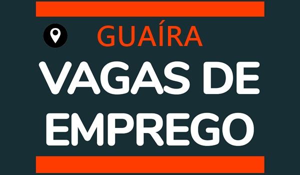 Atenção – Vagas disponíveis em 08/09/21- Guaíra/PR