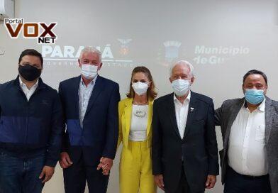 Guaíra – No aniversário de Heraldo Trento, governador em exercício do Paraná libera R$ 5 milhões