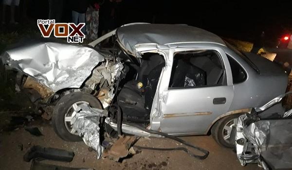 Fatal – Motorista morre em batida entre carro e caminhão na PR-323
