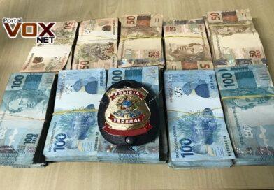 Fronteira – Polícia Federal apreende mais de R$ 200 mil em cédulas