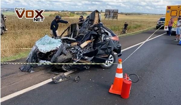 Fatal – Acidente com vítima fatal é registrado neste domingo (29), na BR-369