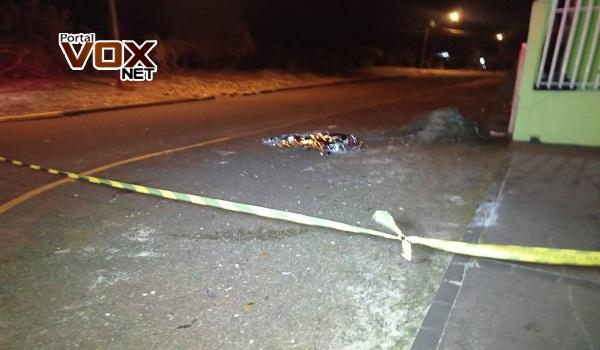 Toledo – Homem é morto com 8 tiros de pistola 9 mm