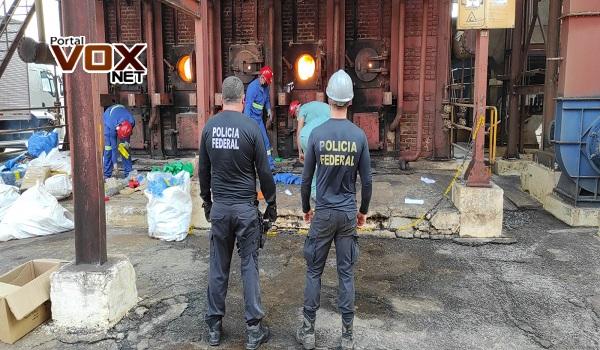 Guaíra – Polícia Federal promove a 3ª incineração de 2021 e destrói mais de 8 toneladas de drogas