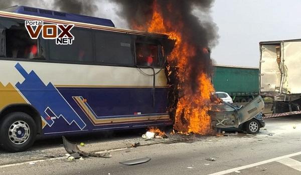 Tragedia – Acidente deixa 6 mortos e 7 feridos