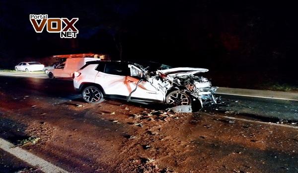 Fatal – Acidente entre caminhão e carros deixa 3 mortos na PR-986