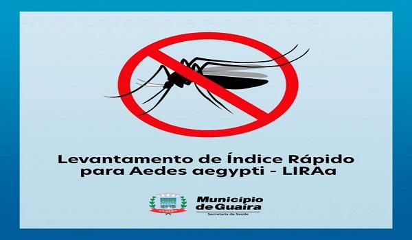 Guaíra – Infestação do mosquito Aedes Aegypti quase chega à zero