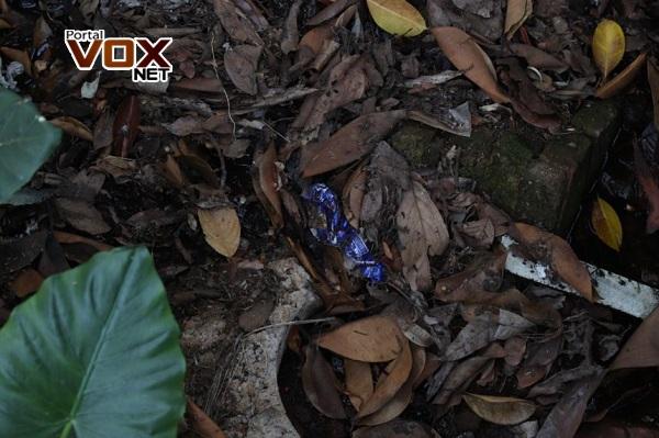 Guaíra – Ponto de preservação de nascente é alvo de poluição humana