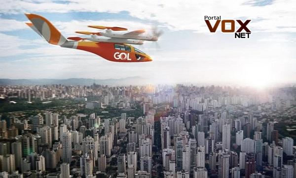 """Novidade – Gol anuncia """"carros elétricos voadores"""" para 2025"""
