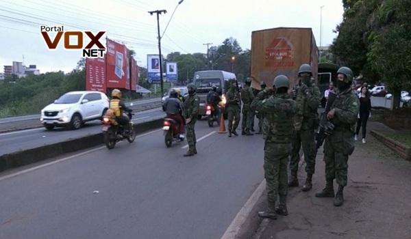Fronteira – Marinha realiza operação contra crimes na fronteira entre Brasil e Paraguai