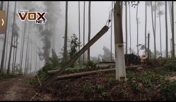 Tenso – Defesa Civil confirma passagem de tornado por Santa Catarina
